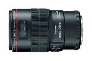 Canon EF 100mm 2.8L IS lens