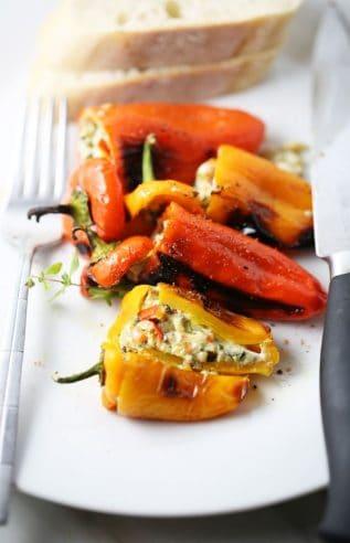 stuffed mini peppers