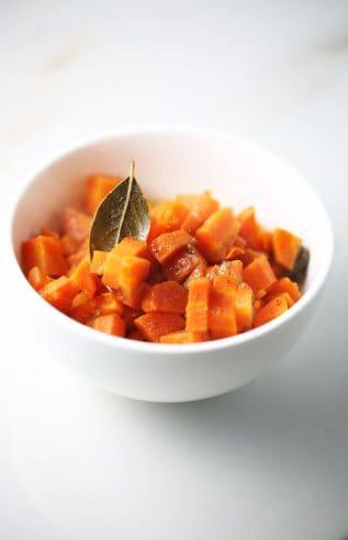 Sauteed carrots