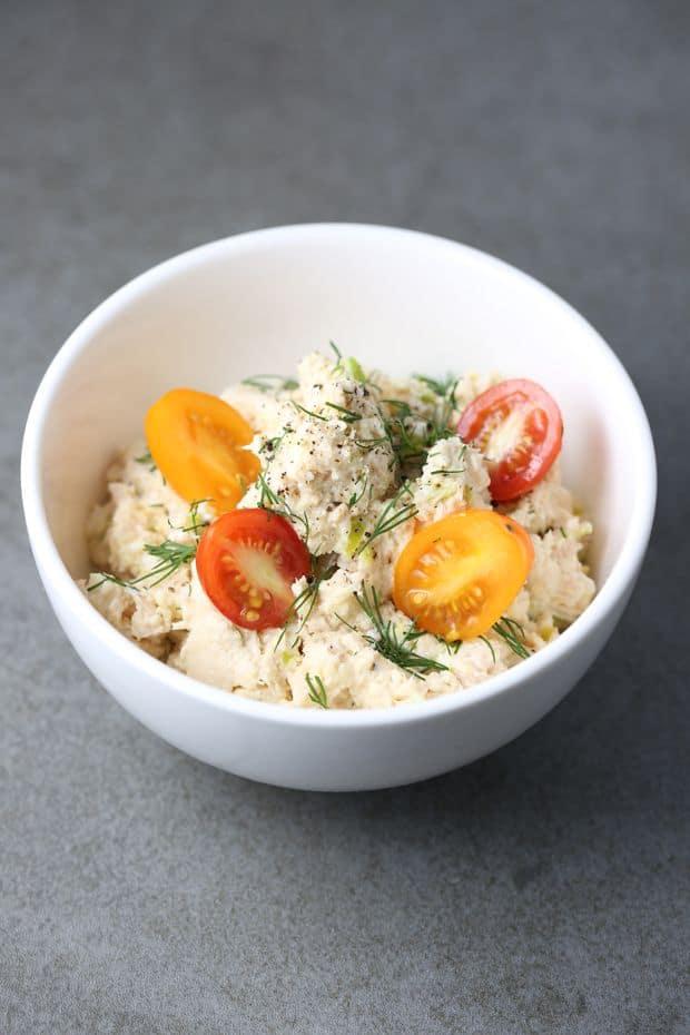 HealthyTuna Salad Recipe with Egg