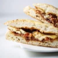 Peanut Butter Banana Bacon Sandwich