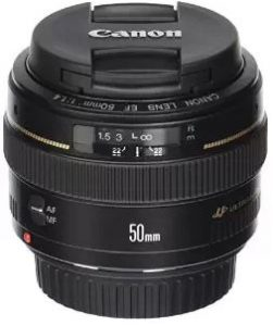 Canon 50mm 1.4 lens