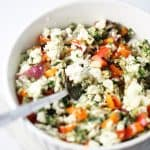 blue cheese spinach pepper stuffing