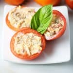 Stuffed tomatoes enjoy