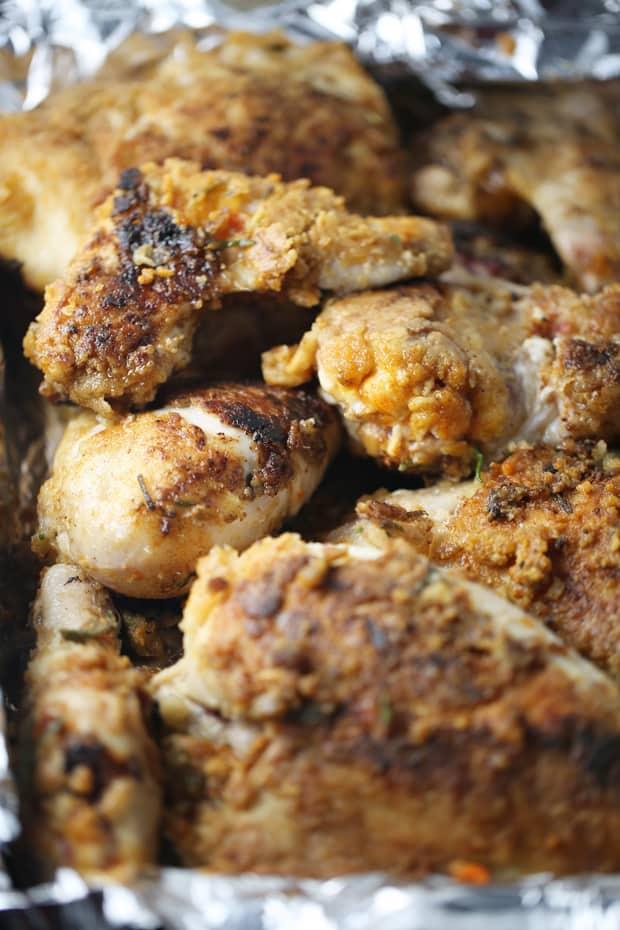 easy rosemary chicken ready to bake