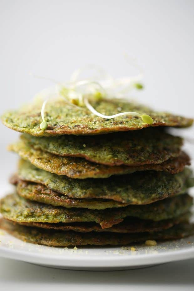 kale potato pancakes