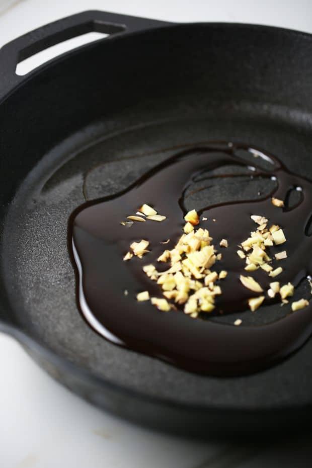 oven baked five spice chicken drumsticks skillet glaze