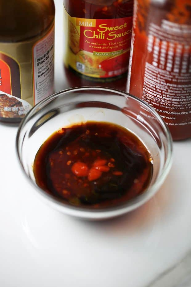 teriyaki sweet chili sriracha sauce