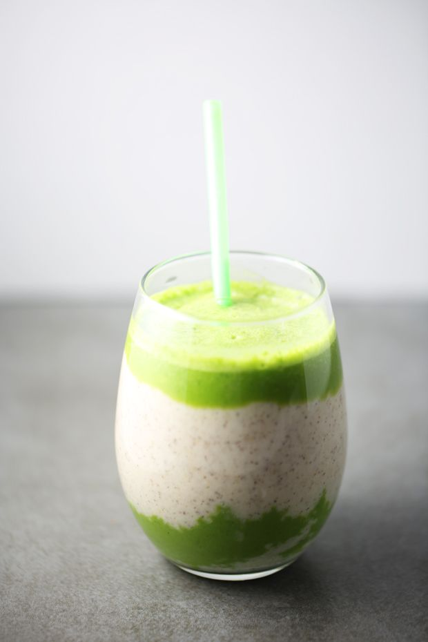 Spinach Pineapple Banana Smoothie