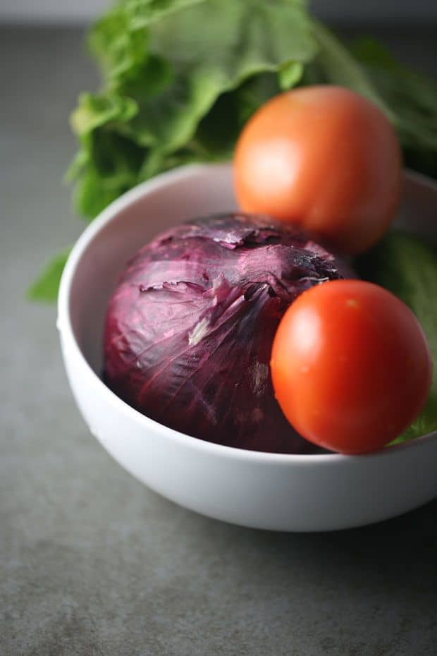 lettuce tomato cucumber salad vegetables
