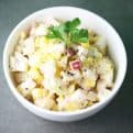 Corn apple salad