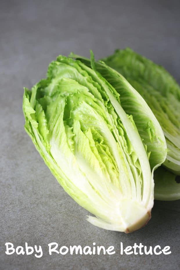 How to cut lettuce?